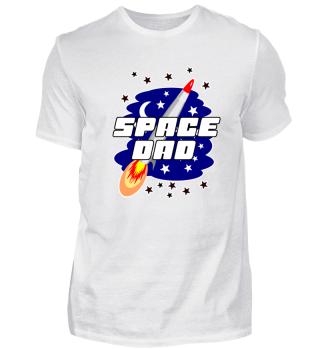 Space Dad - I Love Father Birthday Gift