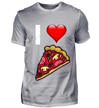 Ich liebe Pizza Salami