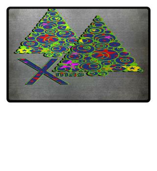 ★ Modern Xmas Tree Rings I