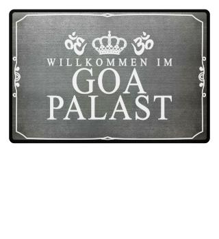 Fußmatte GOA - Willkommen im Palast