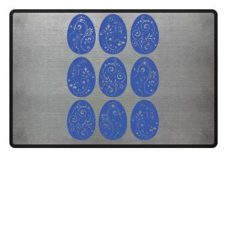 ★ Nine Boho Ornaments Easter Eggs 7