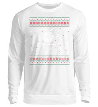 Basketball Ugly Xmas Sweater Geschenk