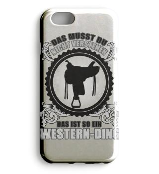 Westernreiter Smartphone-Hülle Geschenk