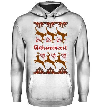 UGLY CHRISTMAS SWEATER GESCHENK WEIN