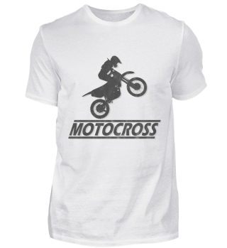 Motocross T-Shirt Grunged Effekt