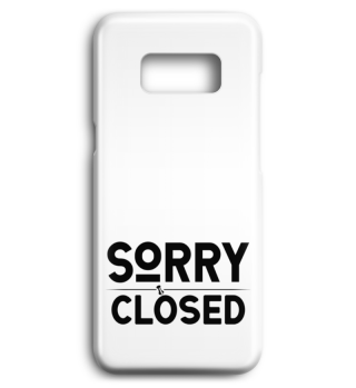 ☛ SORRY · CLOSED #1SH