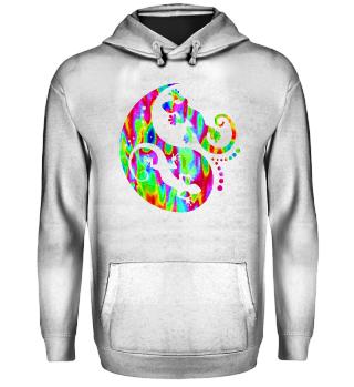 ♥ Yin Yang Geckos - Free Colored