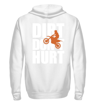 Sweatjacke DIRT DON´T HURT Motocross