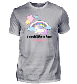 Unicorn sleeping on Rainbow