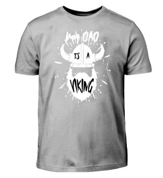 Wikinger Kinder Shirt Geschenk Bart