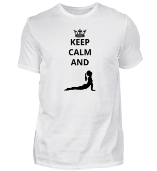 geschenk keep calm and ballet yoga (3)
