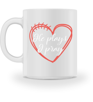 He plays, I pray - Football Heart Play