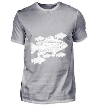 GIFT- GO TO FISH DESIGN WHITE