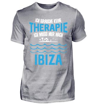 Therapie? Ich muss nur nach Ibiza