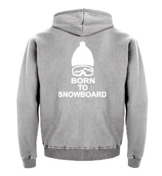 Born to snowboard