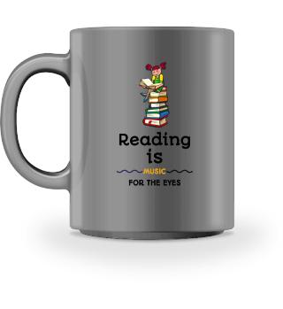 Kaffeetasse für Bücherwürmer
