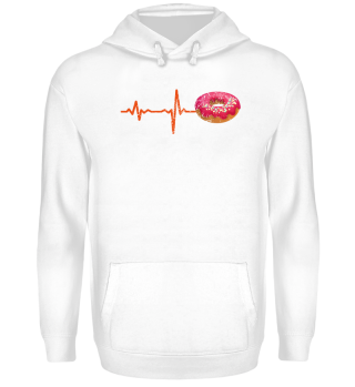 gift heartbeat donut