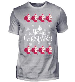 Christmas Ugly Gift Xmas Santa Claus