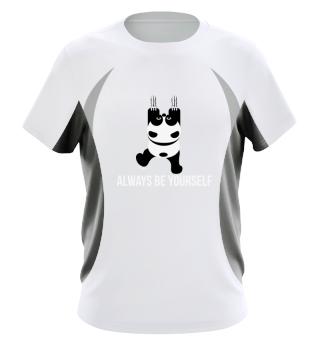 Always be yourself Panda climbing - Gift