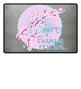 Happy Hanami Cherry Blossoms Mandala 2