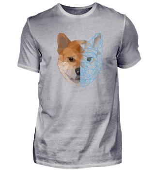 Polygon Shiba Inu Hund Dog Geschenk