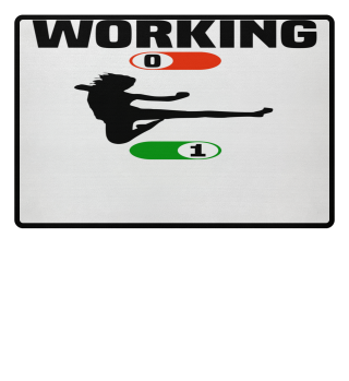 Working Job OFF karate sport ON gift