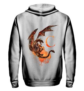 Drachen Buchstabe C