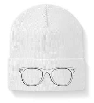 ♥ Embroidery - Hipster Brille