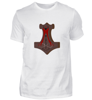 Thors hammer shirt mjolnir viking