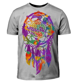 ♥ Dreamcatcher Flower Of Life Turtle III
