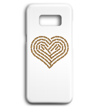 Bullet Heart Mobile Cases