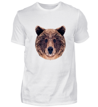BROWN BEAR FOREST ANIMAL GIFT NATURE