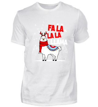 Fa La La La Lama Weihnachten Geschenk