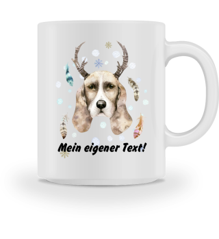 ☛ Merry Christmas · Boho Dog #2CPT