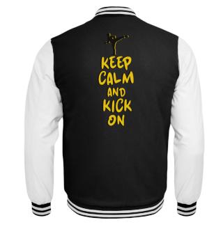 Keep Calm Kick on - Damen & Kids