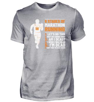 6 Stages Of Marathon Running Jogging