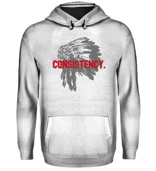 Consistency LYLF Hoodie Front