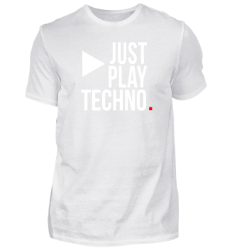 Just play TECHNO