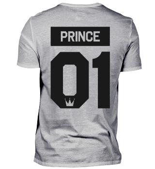PRINCE 01 - Partnershirt Partnerlook