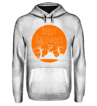 Happy Halloween Landschaft - orange