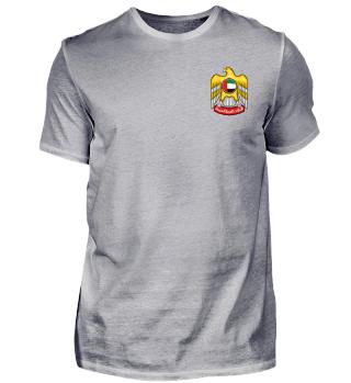 Freizeit Shirt Wappen Arabische Emirate