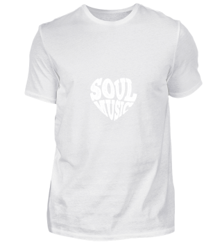 Soul Music Heart gift for Deejays