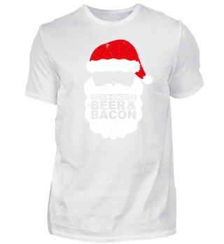 SANTA CLAUS - BEER AND BACON