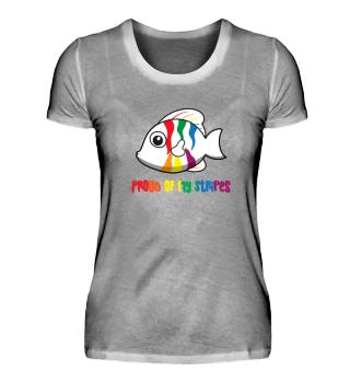 Gay Pride - Proud of my Stripes - LGBT