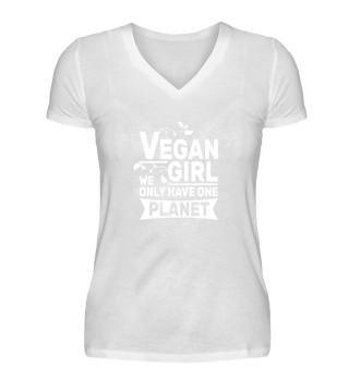 Vegan Girl - Only One Planet