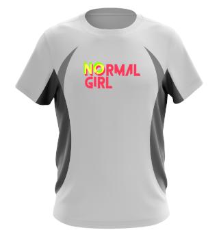 No normal girl