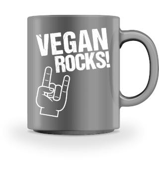 Vegan Rocks Vegans Vegetarian Shirt