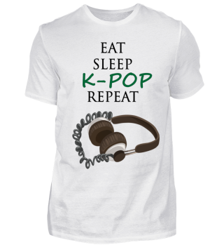 Eat Sleep K-POP Repeat