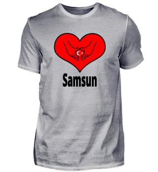 I Love Türkiye Türkei Stadt Samsun