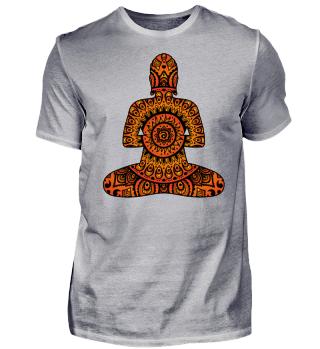 Folklore Mandala - Silence Holy Buddha I
